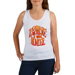Zombie Hunter In Training Women's Tank Top