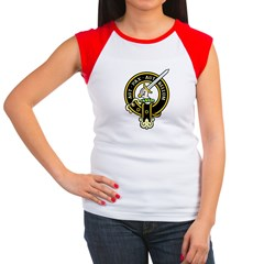 Clan Gunn black Women's Cap Sleeve T-Shirt