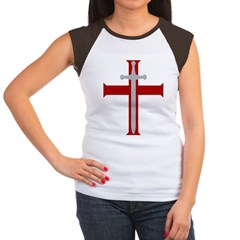 Crusader Sword Women's Cap Sleeve T-Shirt