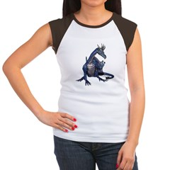 Blue Dragon Women's Cap Sleeve T-Shirt