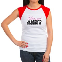 Soldier's girl Women's Cap Sleeve T-Shirt