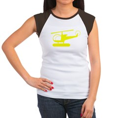 Helicopter Women's Cap Sleeve T-Shirt