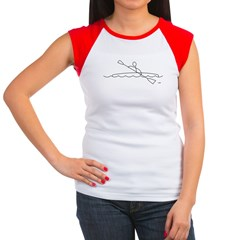 Kayaking Women's Cap Sleeve T-Shirt