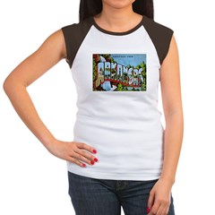 Arkansas Postcard Women's Cap Sleeve T-Shirt