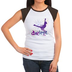 Ice Skating is Axelent Women's Cap Sleeve T-Shirt