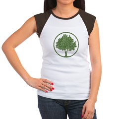 Vintage Tree Women's Cap Sleeve T-Shirt
