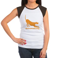 Downward Facing Dog Women's Cap Sleeve T-Shirt
