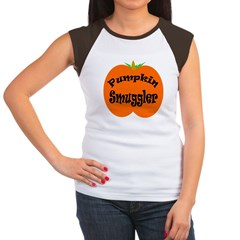 Pumpkin Smuggler Women's Cap Sleeve T-Shirt