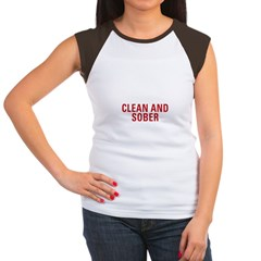 1 Year Clean & Sober Women's Cap Sleeve T-Shirt