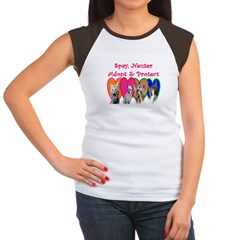 More Veterinary Women's Cap Sleeve T-Shirt