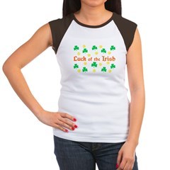 &quot;Luck of the Irish&quot; Women's Cap Sleeve T-Shirt