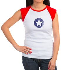 Vintage USA Women's Cap Sleeve T-Shirt
