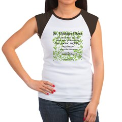 St. Paddy's Place Women's Cap Sleeve T-Shirt