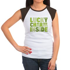Lucky Charm Inside Women's Cap Sleeve T-Shirt