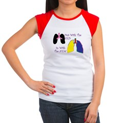 New Lungs.jpg Women's Cap Sleeve T-Shirt