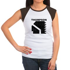 Thompson High Warriors Women's Cap Sleeve T-Shirt