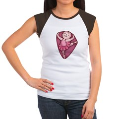 Belly Dancer Women's Cap Sleeve T-Shirt