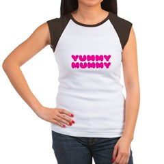 Yummy Mummy Women's Cap Sleeve T-Shirt