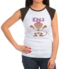 Little Monkey Kayla Women's Cap Sleeve T-Shirt