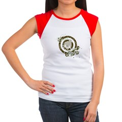 4-loverfighterdark Women's Cap Sleeve T-Shirt