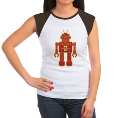 Robot Women's Cap Sleeve T-Shirt