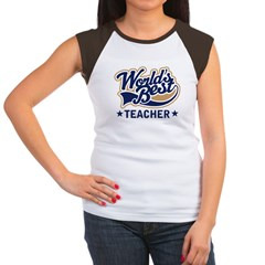 World's Best Teacher Women's Cap Sleeve T-Shirt