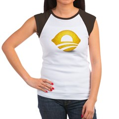Lemon Presiden Women's Cap Sleeve T-Shirt