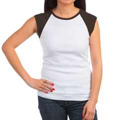 Curly Haired Women's Cap Sleeve T-Shirt