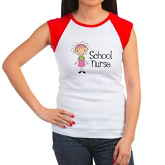 School Nurse Women's Cap Sleeve T-Shirt