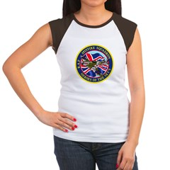 SPITFIRE w.UK flag Women's Cap Sleeve T-Shirt