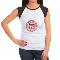 Georgia Seal & Map Women's Cap Sleeve T-Shirt