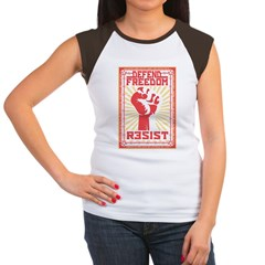 Resist 2 Women's Cap Sleeve T-Shirt