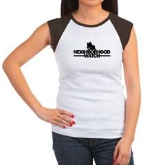 neighborhood watch Women's Cap Sleeve T-Shirt