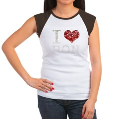 I heart Ron Paul Women's Cap Sleeve T-Shirt