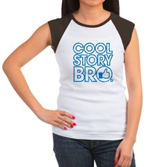 Cool Story Bro Women's Cap Sleeve T-Shirt