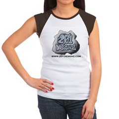 201Designz Gear Women's Cap Sleeve T-Shirt