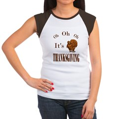 It's Thanksgiving! Women's Cap Sleeve T-Shirt