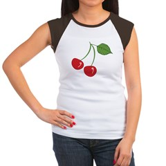 Classic Cherry Women's Cap Sleeve T-Shirt