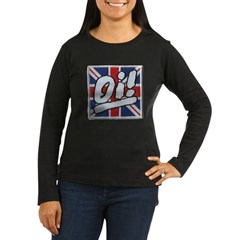 Oi Women's Long Sleeve Dark T-Shirt