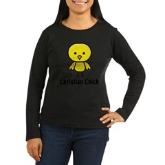 Christian Chick Women's Long Sleeve Dark T-Shirt