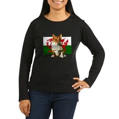 Welsh Corgi Women's Long Sleeve Dark T-Shirt