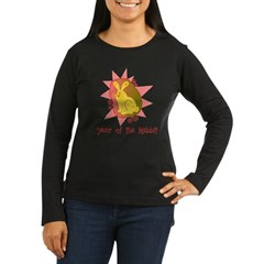 Year of the Rabbit Brigh Women's Long Sleeve Dark T-Shirt