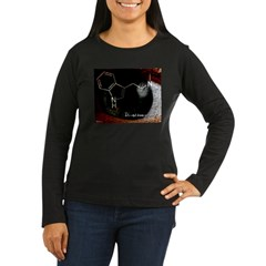 DMT - Woman's shri Women's Long Sleeve Dark T-Shirt