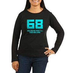 Let's 68! Women's Long Sleeve Dark T-Shirt