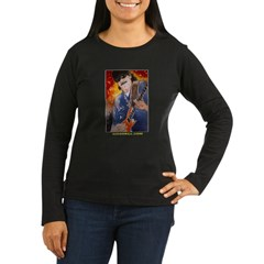 """Latin Tropical"" - Carlos San Women's Long Sleeve Dark T-Shirt"