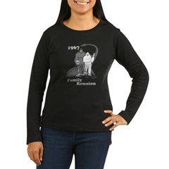 1967 Bigfoot Family Reunion Women's Long Sleeve Dark T-Shirt