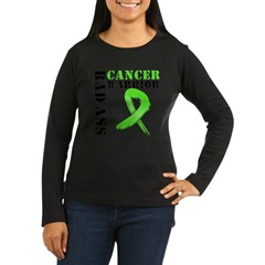 BadAss LymphomaWarrior Women's Long Sleeve Dark T-Shirt