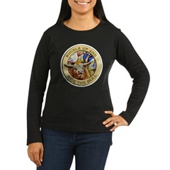 Ride the Bull Women's Long Sleeve Dark T-Shirt