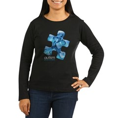 PuzzlesPuzzle (Blue) Women's Long Sleeve Dark T-Shirt