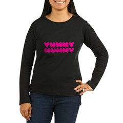 Yummy Mummy Women's Long Sleeve Dark T-Shirt